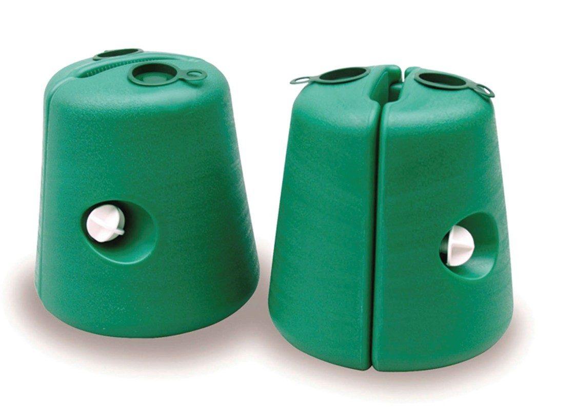 Base per gazebo set 2pz (verde)