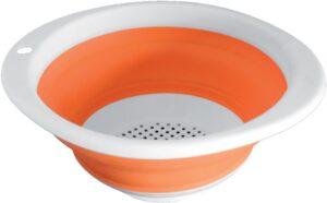 Scolapasta Fold-Away Colander (arancione)