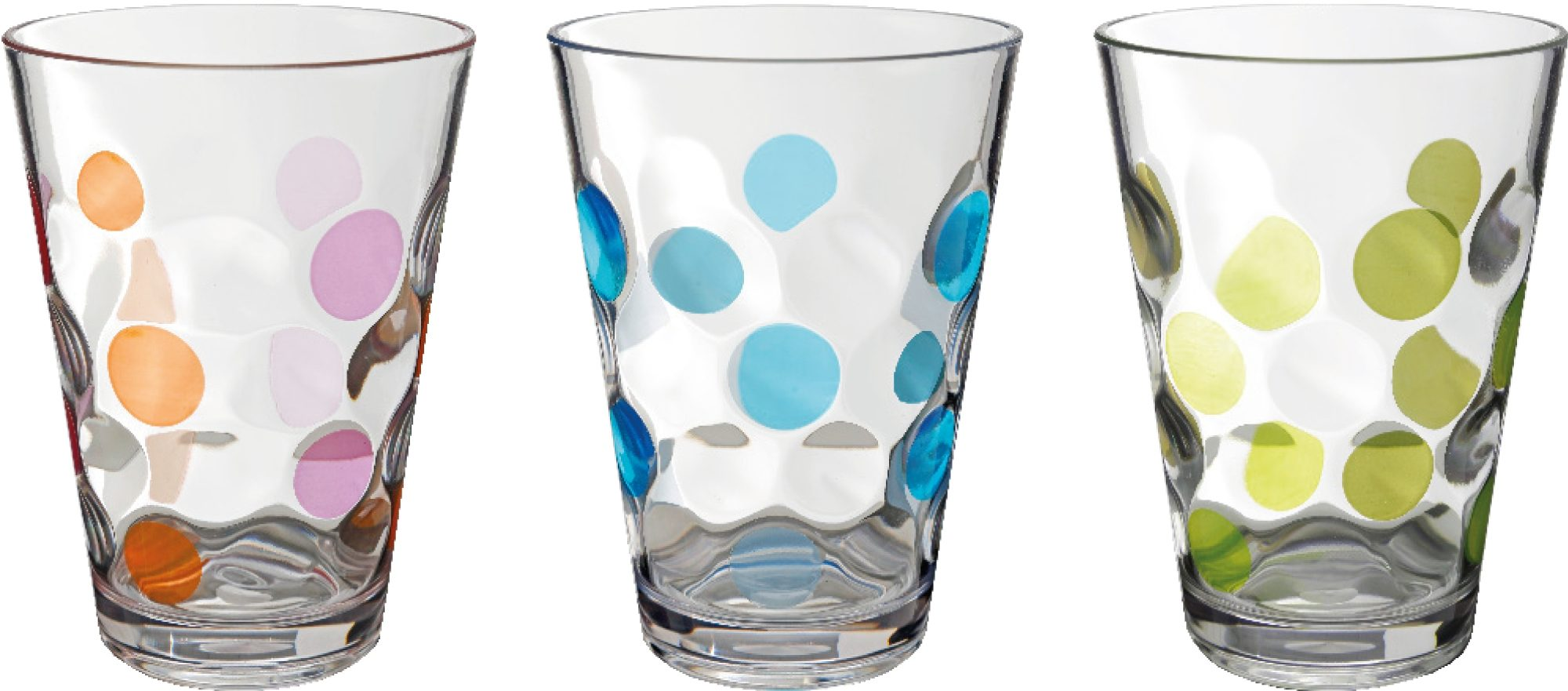 Bicchieri Baloons (3pz) (colori assortiti)