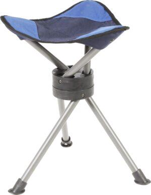 Sgabello treppiede Roto (blu)