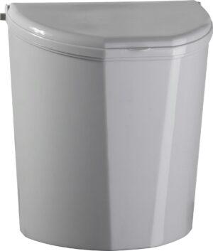 Portarifiuti Pillar XL (grigio)