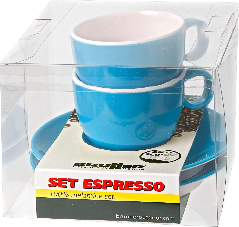 Set Espresso blu (2pz)