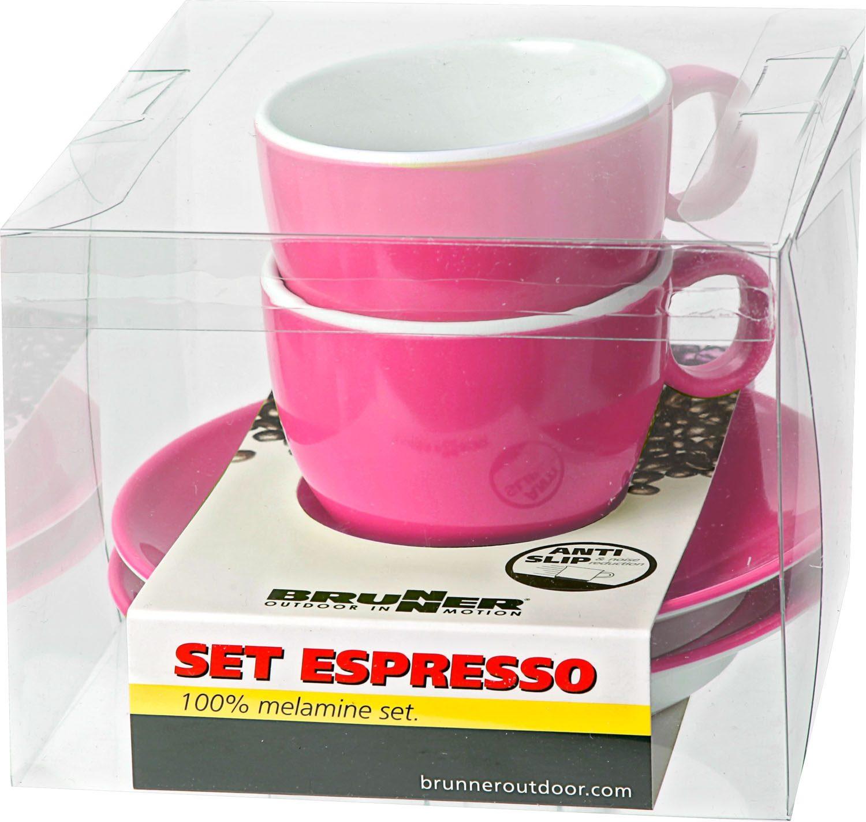Set Espresso pink (2pz)
