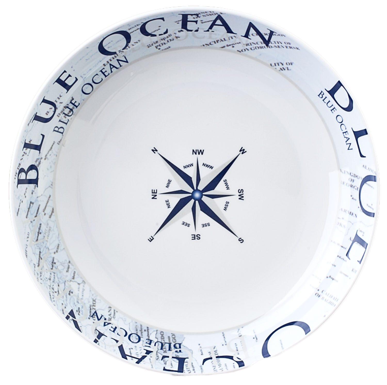 Piatto fondo Blue Ocean
