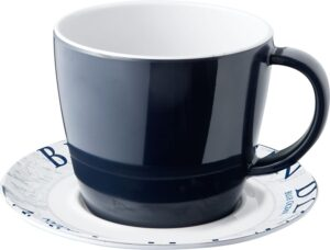 Tazza con piattino Blue Ocean