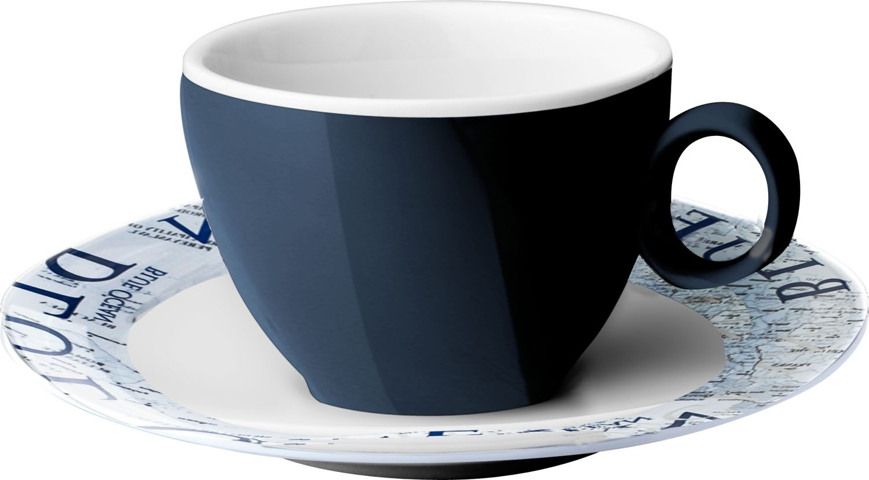 Tazzina Espresso Blue Ocean