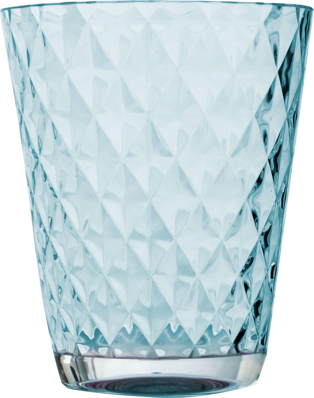 Bicchieri Diamond (4pz) (colori assortiti)