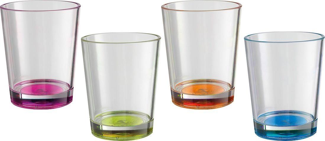 Bicchieri Multiglass Color (4pz) (colori assortiti)