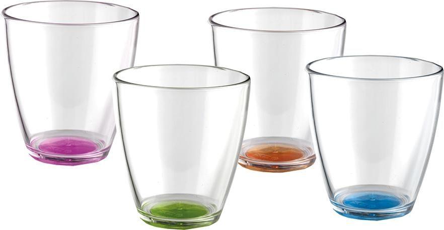 Bicchieri Tahiti Set (4pz) (colori assortiti)