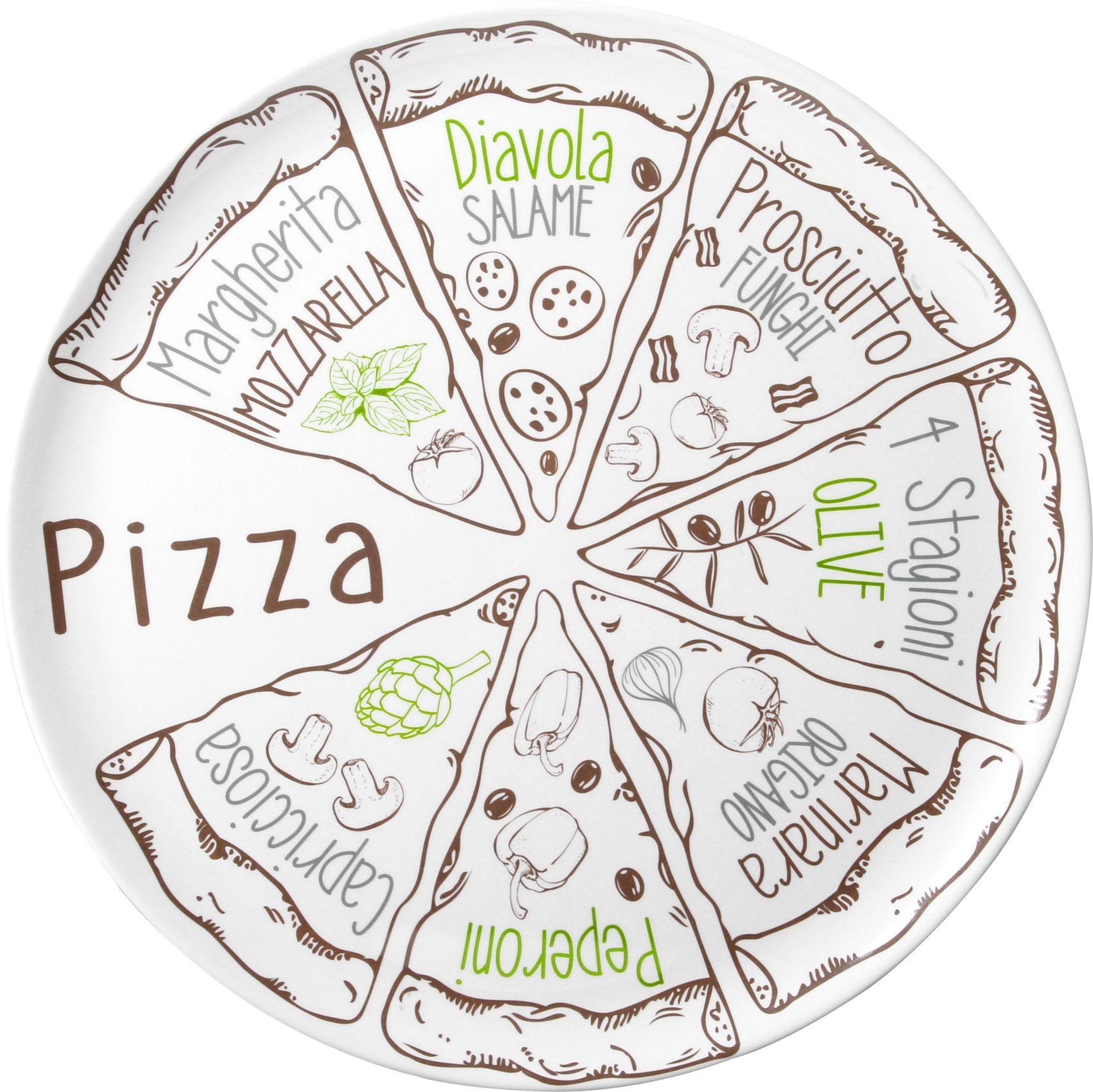 Piatti Pizza Set (2pz)