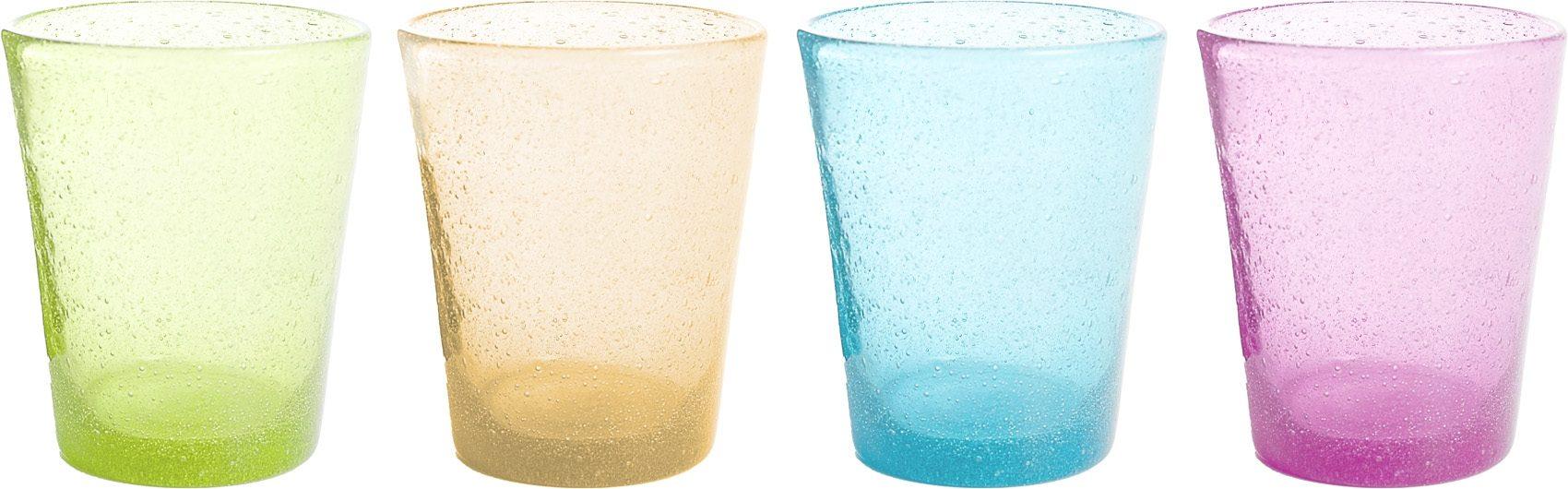 Bicchieri Oxigen (4pz) (colori assortiti)
