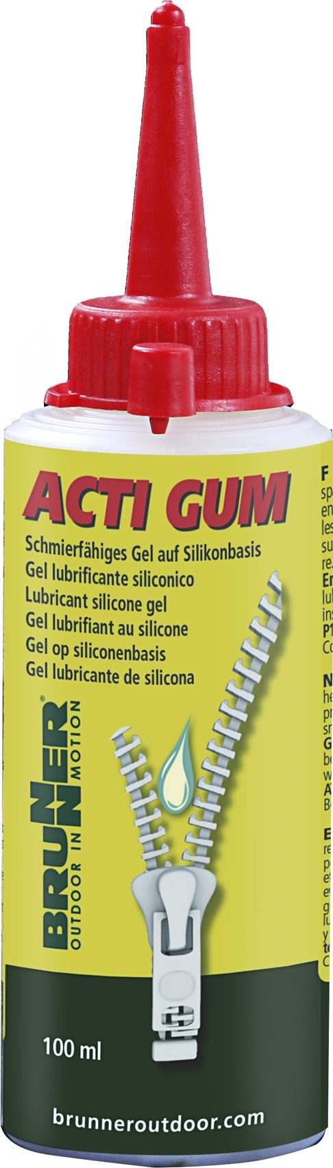 Gel lubrificante Acti-Gum 100ml